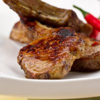 Lip-smacking lamb ribs