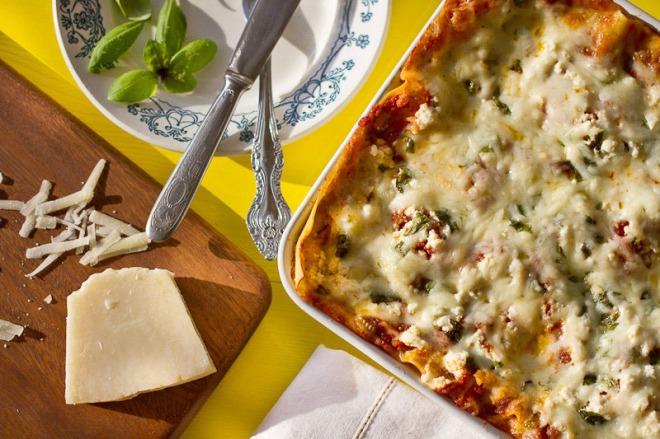 Veg lasagna-1