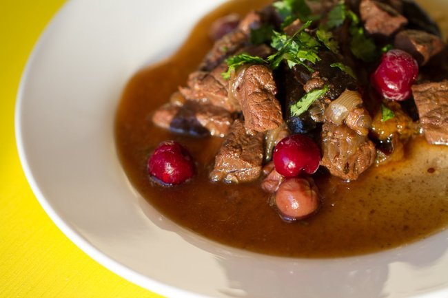 Slow-cooked meat