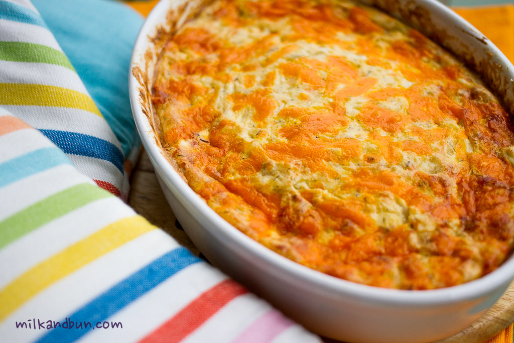 Cabbage casserole with farmer cheese | milkandbun