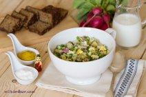 Okroshka is a great cold soup!
