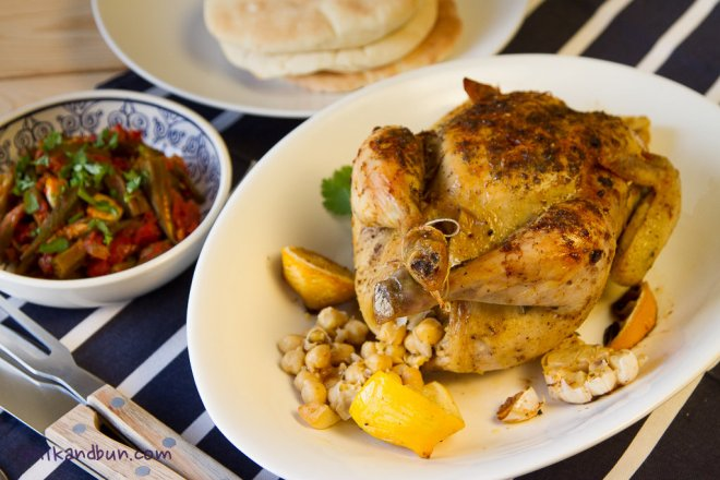 Arabic-spiced Chicken