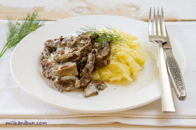 Beef Stroganov