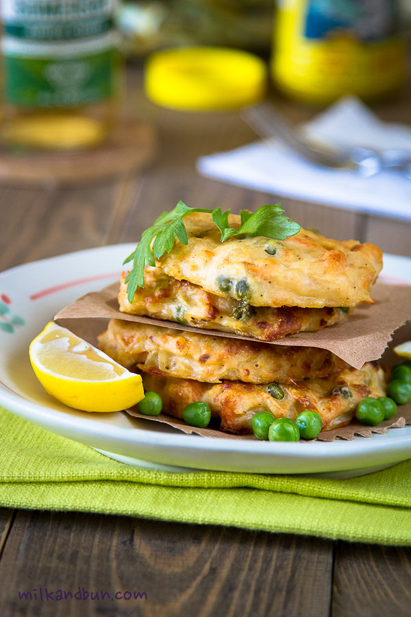 Trout fritters