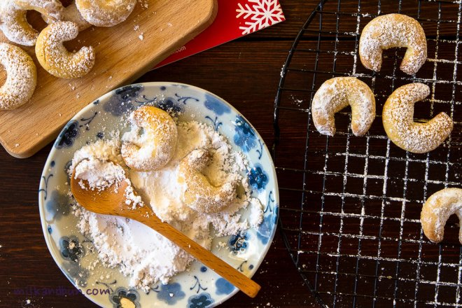 German vanilla biscuits