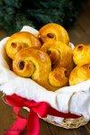St.Lucia saffron buns