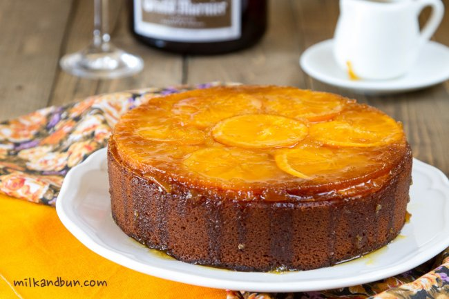 Winter Orange Cake