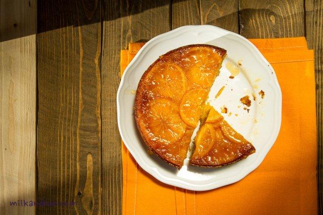 Bright Orange Cake