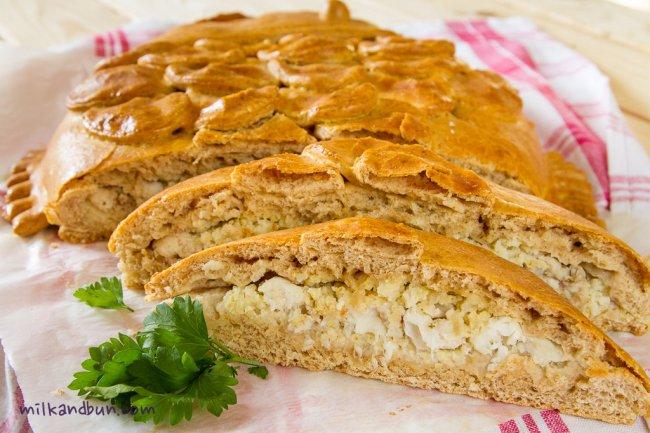 Delicious Siberian Fish Pie