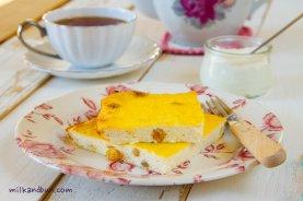Cottage cheese bake. Russian recipe