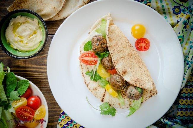 Arabain Kofta - lamb meatballs
