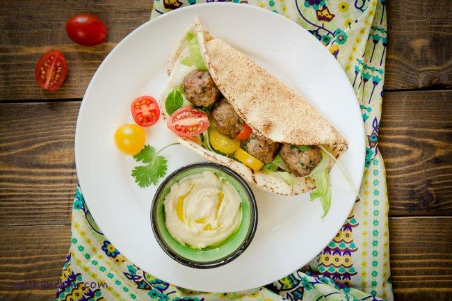Kofta- Arabian lamb meatballs