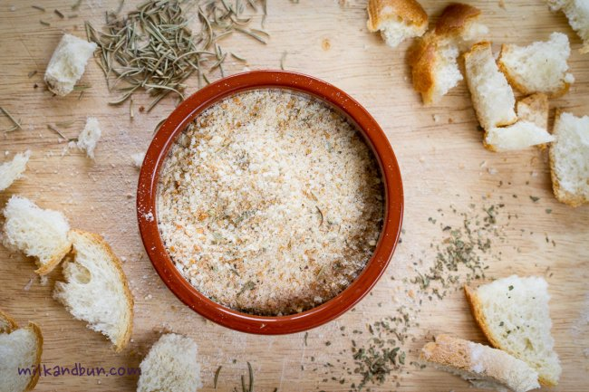 Homemade Aromatic Breadcrumbs