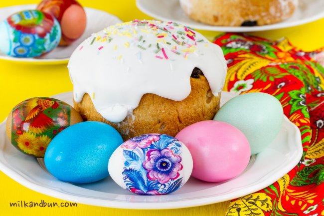 Russian Easter. Kulich | milkandbun
