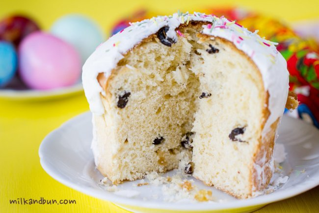 Kulich- Russian Easter cake