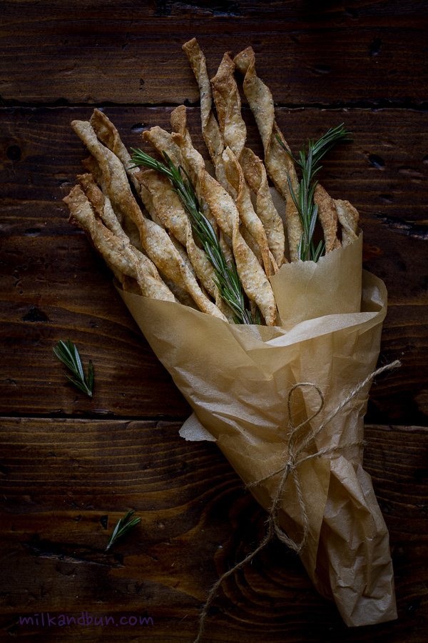 Rosemary Crackers Bouquet