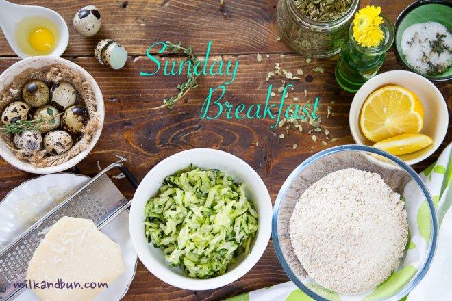 Sunday Breakfast: Zucchini oladushki