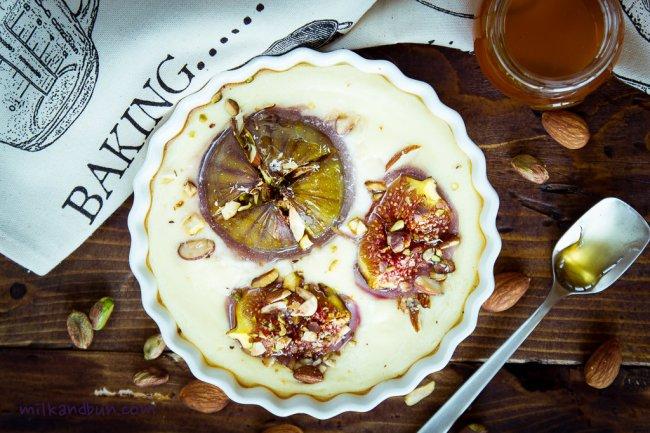 Figs baked in RicottaCream
