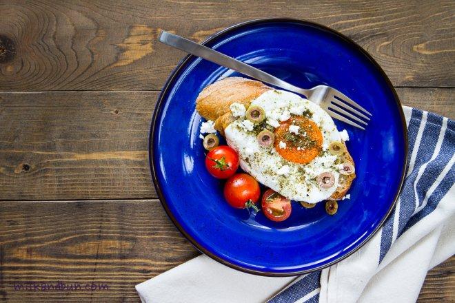 Zaatar fried egg