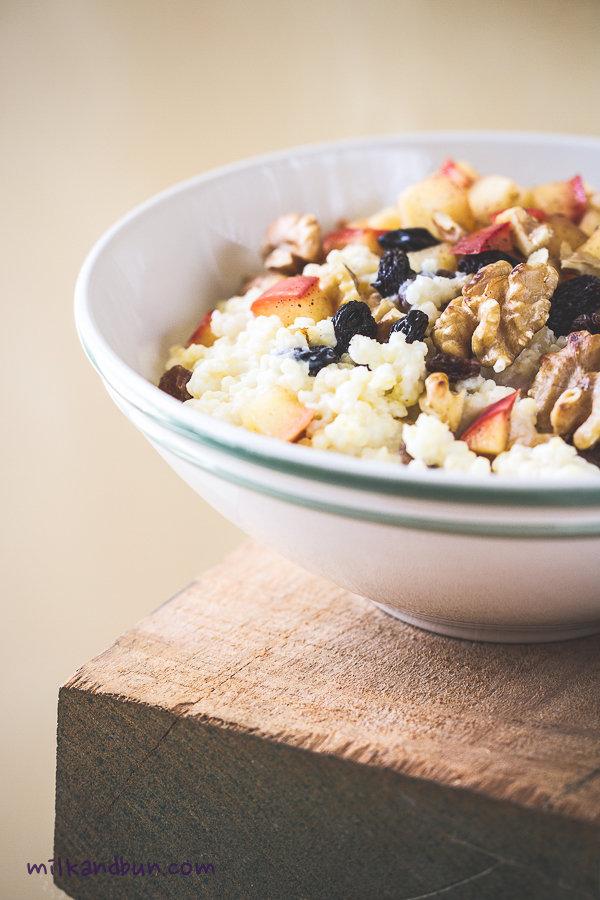 Sundat Breakfast: Millet Kasha