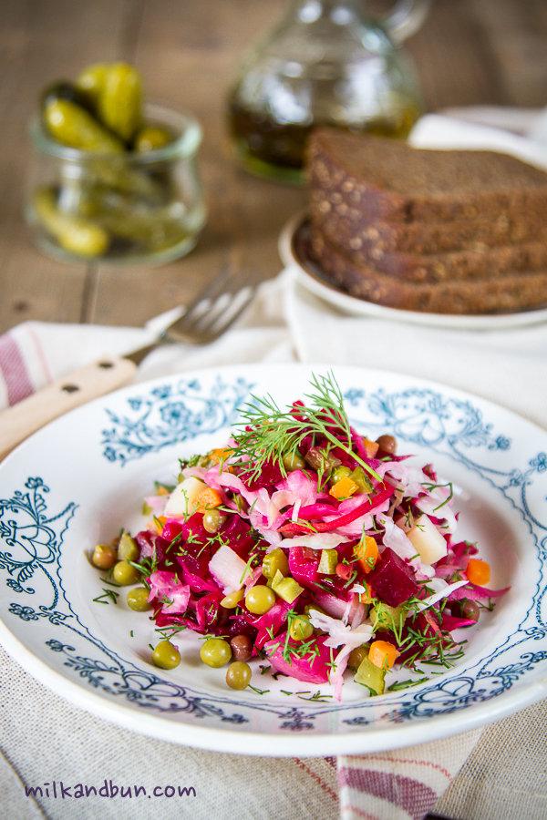 Vinegret-Russian salad