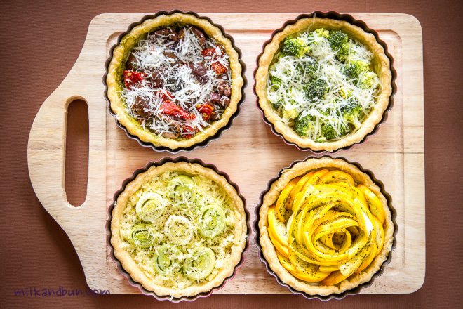Small quiches