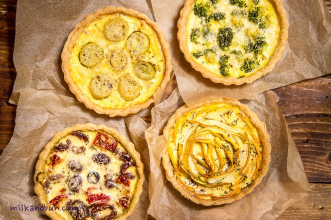 Beautiful and Tasty: small quiches