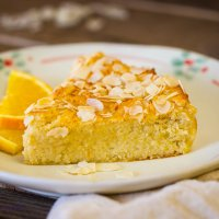 Almond and ricotta cake