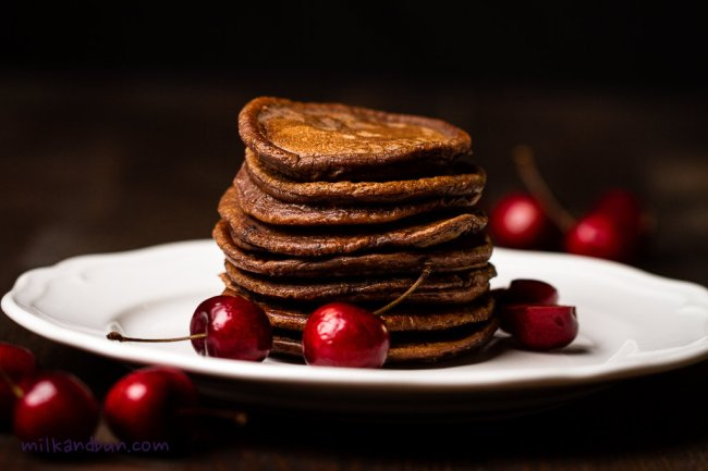 Black Forest Pancakes | milkandbun