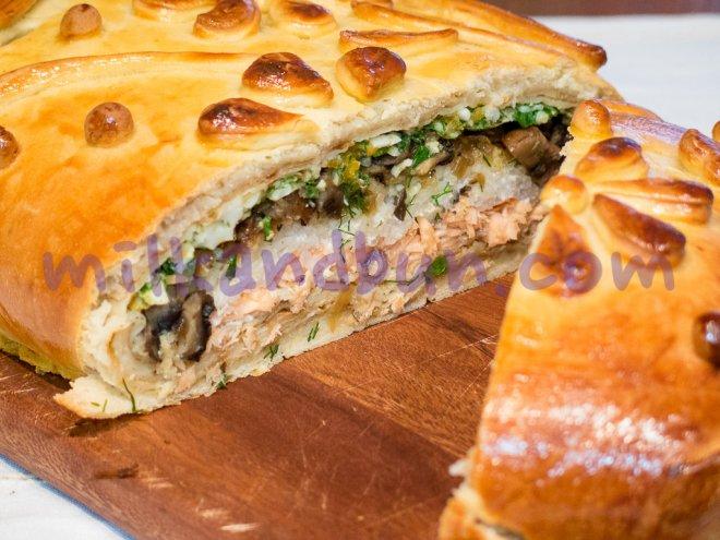 Festive&Delicious Kulebyaka by milkandbun