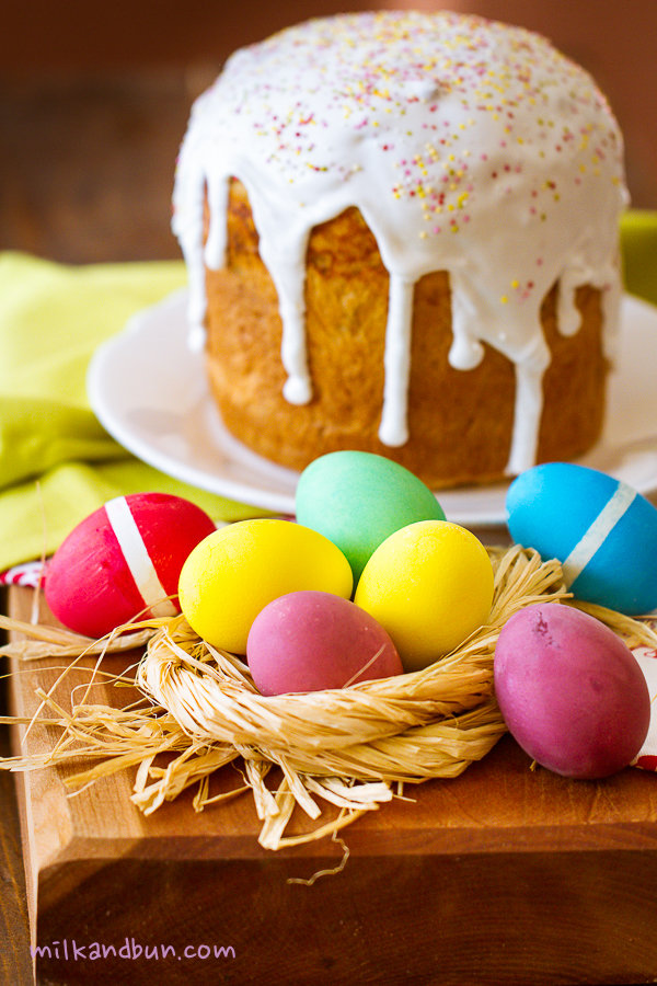 Easter eggs&kulich-1