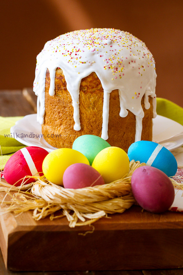 Easter eggs&kulich-2