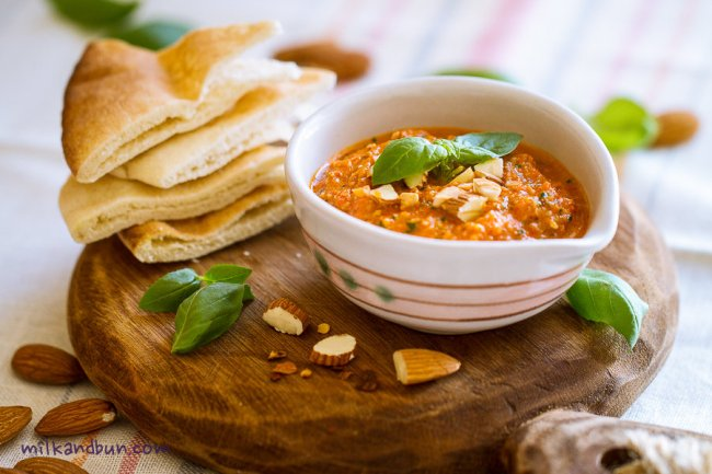 Red pepper dip