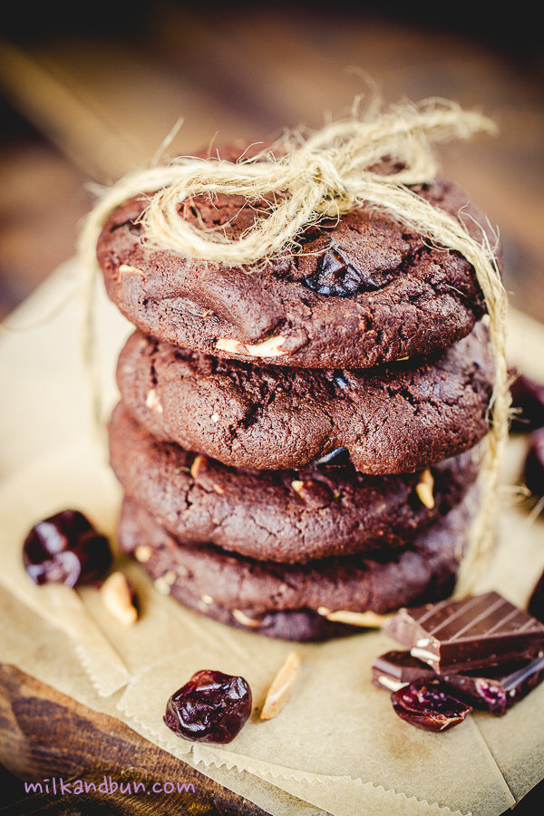 ChocoCherryCookies