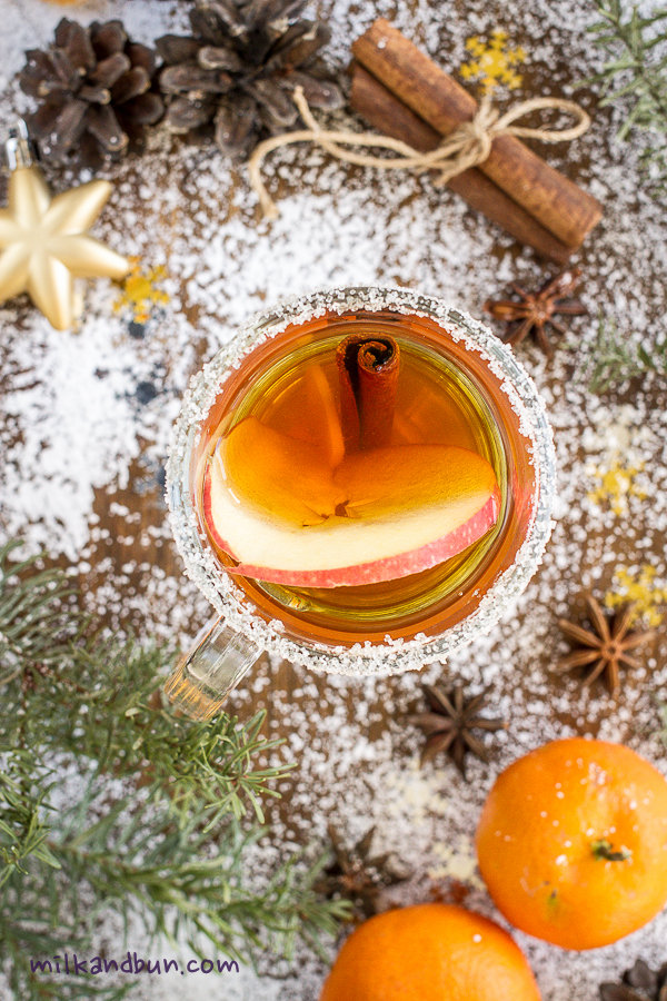 Mulled Green Tea