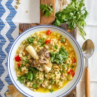 Lamb and Pearl Barley soup